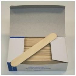 Boîte de 250 abaisse-langue pour enfant en bois