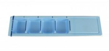 Couvercle de rechange pour distributeur 225x50x18 mm