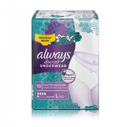 Always Discreet Pants Normal Large - 10 protections