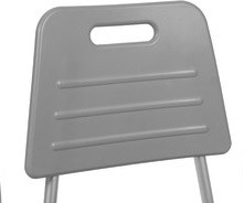 Dossier pour siège de bain suspendu en aluminium