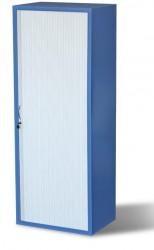 Armoire de stockage modulaire fixe avec rideau amovible