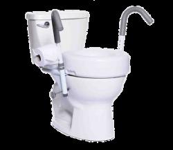 Accoudoirs de toilette