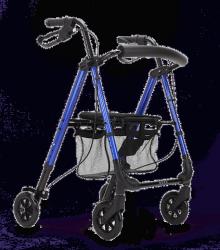 Rollator à 4 roues confort