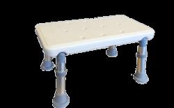 Marchepied blanc réglable en hauteur T-Care®