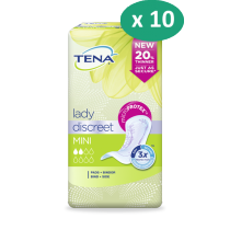 10 paquets de Tena Lady Mini