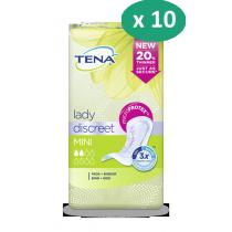 10 paquets de Tena Lady Mini
