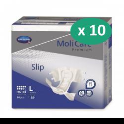 10 paquets de Hartmann MoliCare Soft Super Plus