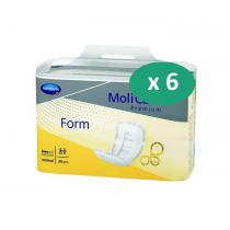 6 paquets de Hartmann MoliForm Soft Light