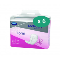 6 paquets de Hartmann MoliForm Soft Maxi