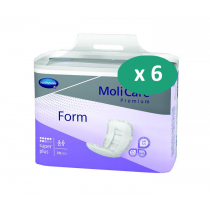 6 paquets de Hartmann MoliForm Soft Super
