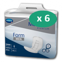 6 paquets de Hartmann MoliForm Soft For Men