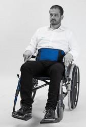 Ceinture ventrale Salvaclip Comfort pour fauteuil roulant