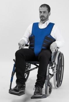 Veste pelvienne Salvaclip Comfort pour chaise roulante