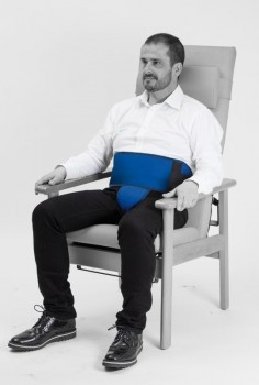 Ceinture pelvienne Salvaclip Safe pour fauteuil