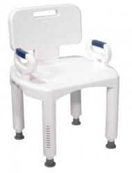 Chaise de douche réglable