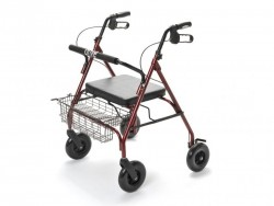 Rollator pliable à 4 roues