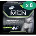 Tena Men Level 4 Medium - 8 paquets de 12 protections