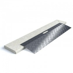 Rampe de seuil en aluminium