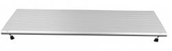 Rampe de seuil pliable en aluminium - Longueur 76 cm