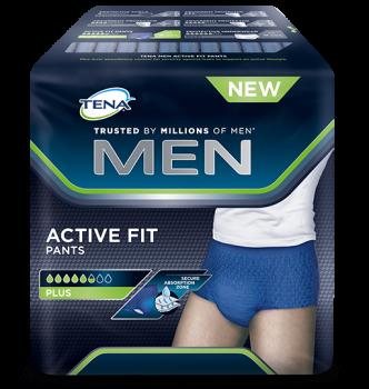 Tena Men Pants Plus Medium - 12 protections  SenUp.com