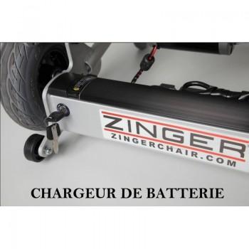 Chargeur de batterie pour fauteuil électrique ZINGER| SenUp.com