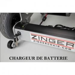 Chargeur de batterie pour fauteuil électrique ZINGER