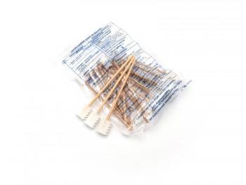 """20 bâtonnets cotons-tiges """"embout dentelé"""""""