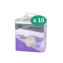 10 paquets de Hartmann MoliCare Mobile Super