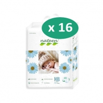 Nateen Baby New Born Diapers - 20 protections