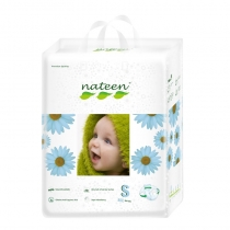 Nateen Baby Diapers Medium - 18 protections