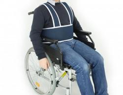 Brassière de sécurité pour fauteuil roulant