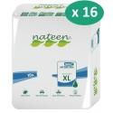 Nateen Flexi Maxi XL - 16 paquets de 10 protections