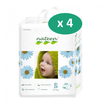 Nateen Baby Diapers Small - 16 paquets de 20 protections| SenUp.com