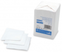 Paquet de 100 compresses en non tissé - 5 x 5 cm