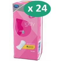 24 paquets de Hartmann MoliMed Premium Micro Light