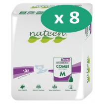 Nateen Combi Super Ultra Medium - 8 paquets de 10 protections