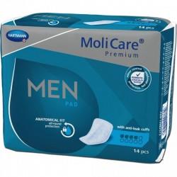 Hartmann Molicare Premium Men Pads 4 gouttes - 14 protections