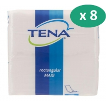 8 paquets de Tena Maxi traversable