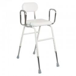 Chaise haute / assis-debout avec accoudoirs