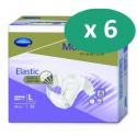 Molicare Premium Slip Elastic Large 8 gouttes - 6 paquets de 24 protections