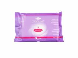 Paquet de 8 gants de toilette préimprégnés non parfumés COCUNE