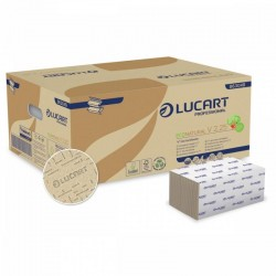 Carton de 3800 essuie-mains papier Eco Natural - 25 x 21 cm en pliage Z-Z