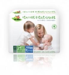 Bio Babby Junior - 28 couches écologiques