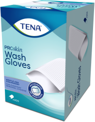 200 gants Tena Proskin Wash Glove