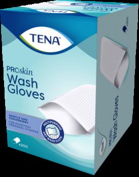 200 gants Tena Proskin Wash Glove  SenUp.com