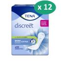 Tena Discreet Extra - 12 paquets de 20 protections