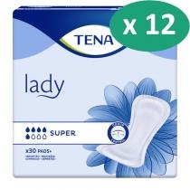 10 paquets de Tena Lady Super