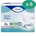 Tena Flex Super XL - 6 paquets de 30 protections