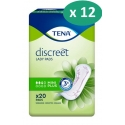 Tena Discreet Mini Plus - 12 paquets de 20 protections