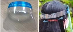 Masque PVC de protection pour visage